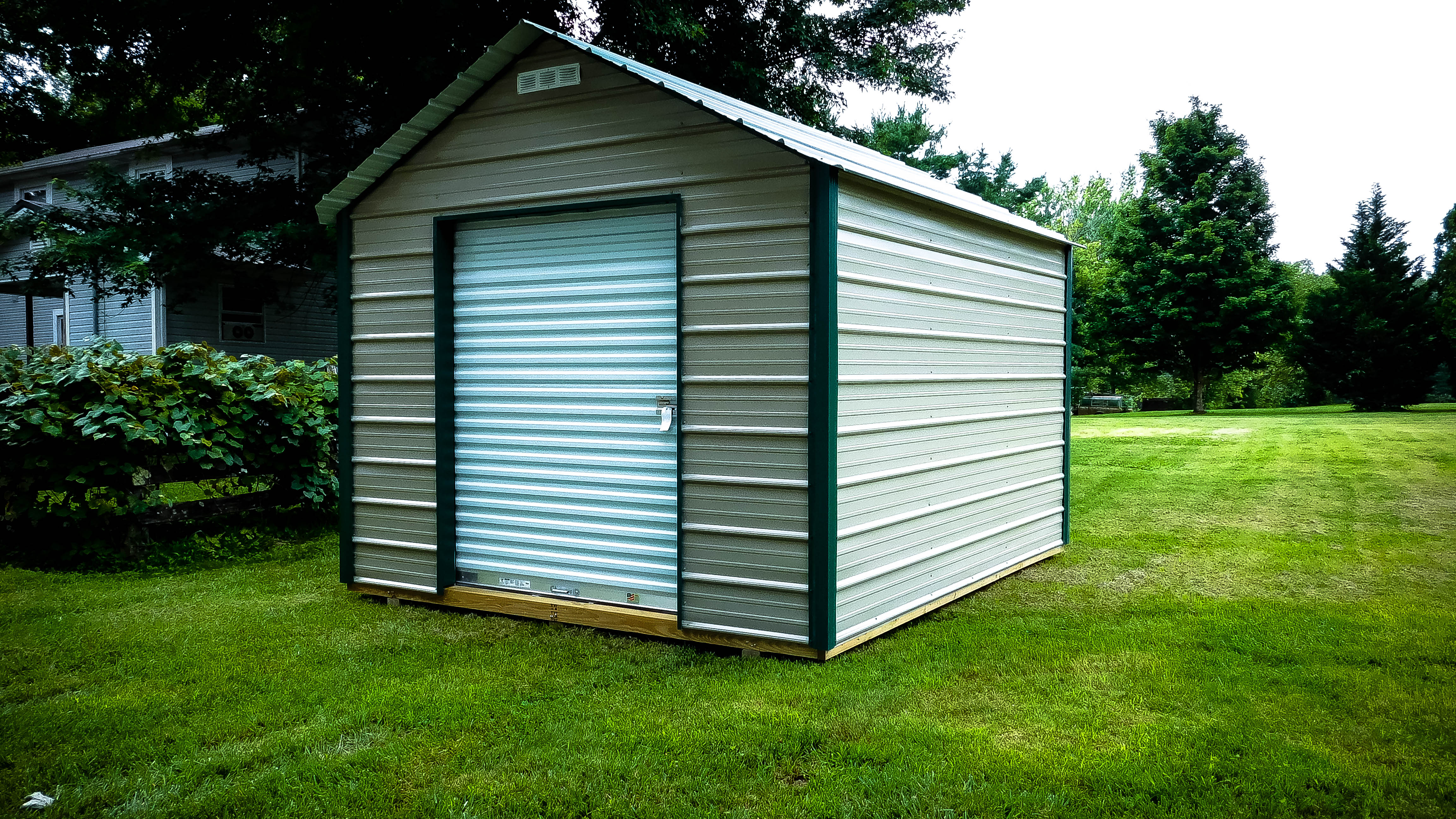 12x36 Metal Carport : Rent to own storage buildings sheds barns lawn