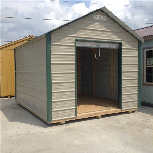 14x24 Metal Carport : Rent to own storage buildings sheds barns lawn