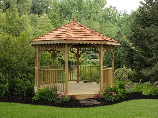 Value Wood Gazebo Picture