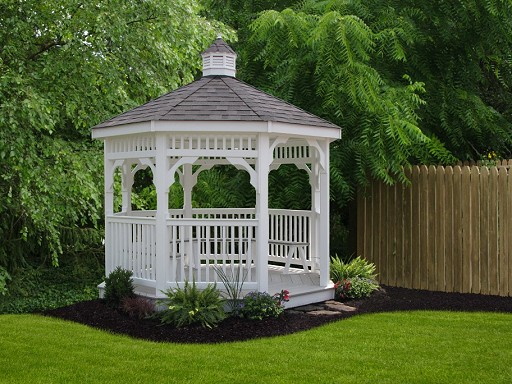 Vinyl Octagon Gazebo Picture