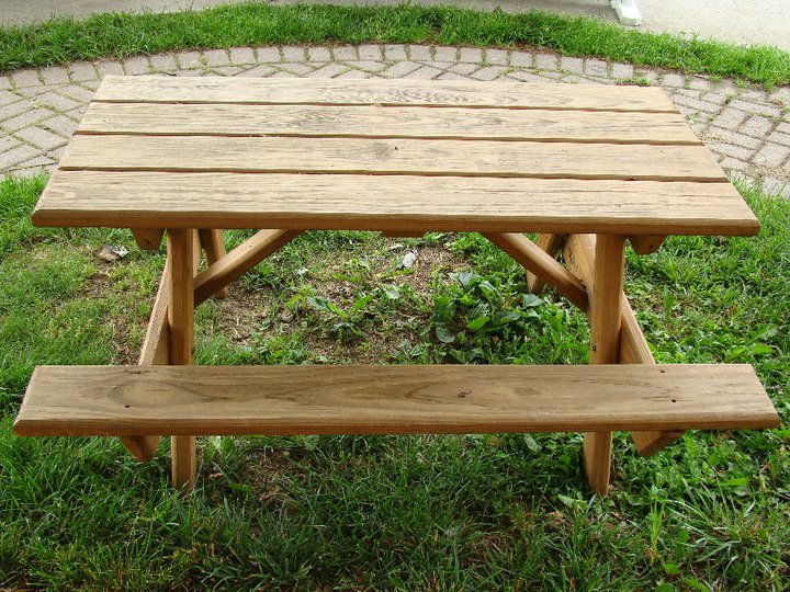 Permalink to plans for building a folding picnic table
