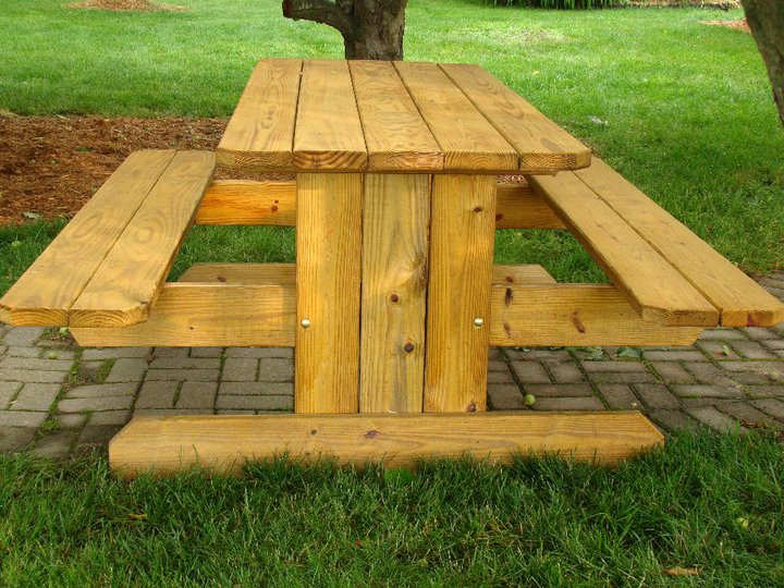 Bench converts to picnic table plans new design woodworking